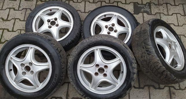 "Alufelgi Alusy Felgi Opel Tigra Astra 15"" 4x100 ET 49 KOMPLET 5 SZTUK"