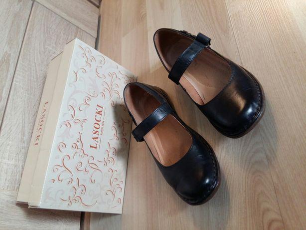 Skórzane buty damskie Lasocki 37 nowe