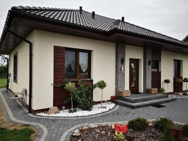 Dom z Keramzytu budowany na działce Klienta