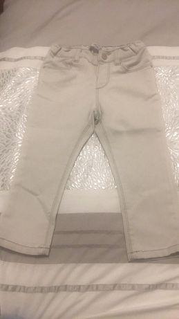 Spodnie jeansy zara 92