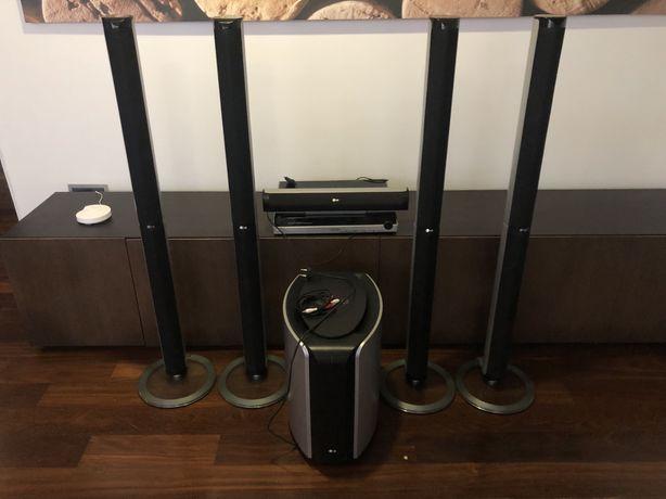 LG amplificador/ sistema de leitor