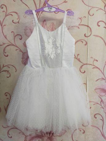 Детское нарядное платье Снежинка.