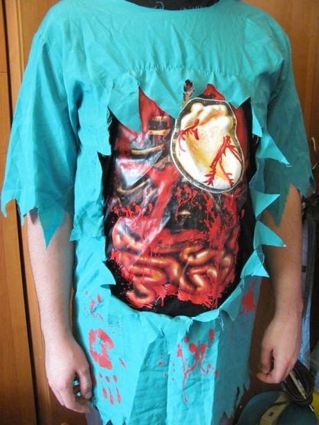 Костюм доктор зомби, на Хэллоуин,карнавал, мертвец.