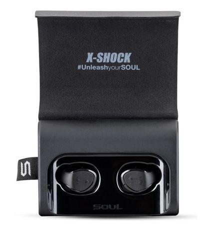 Наушники Soul X-Shock Absolutely True Wireless Earphones Black