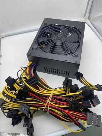 Zasilacz ATX 1800w GPU  Koparka kryptowalut ETH BTC już dostępne