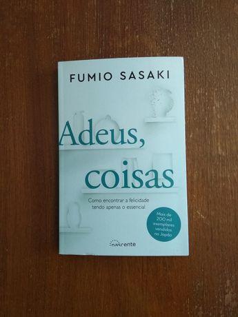 Livro 'Adeus Coisas' de Fumio Sasaki