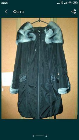 Зимнее пальто 54 размер
