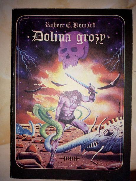Dolina grozy - książka z 1986r