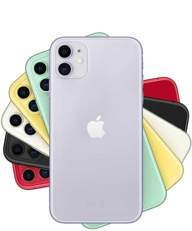 Aplle iPhone 11 64gb czarny i bialy