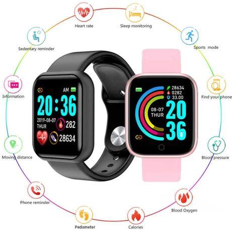 Смарт часы Smart Bracelet Y68 (D20Pro) фитнес браслет