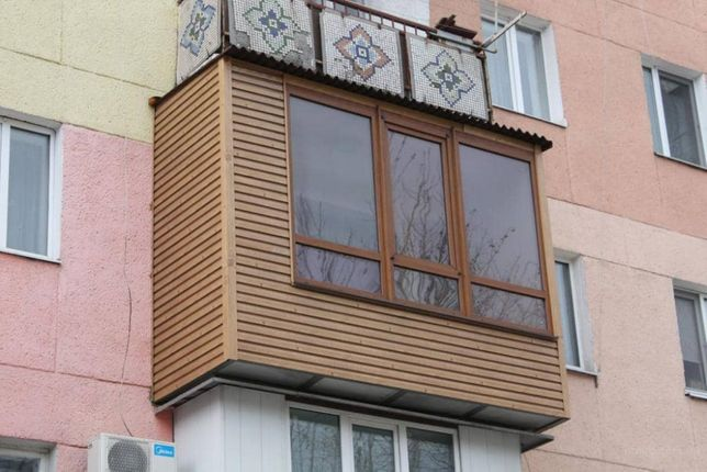 Сварка, расширение и остекление балконов