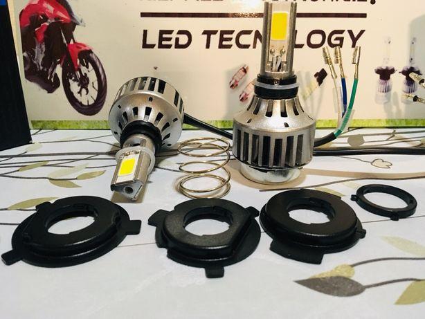LED H4 HS1 Moto 80w