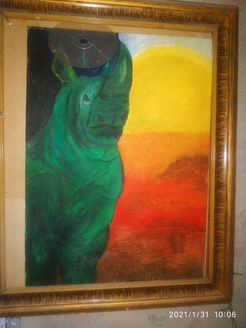 Продам авторскую картину на холсте масляными красками.
