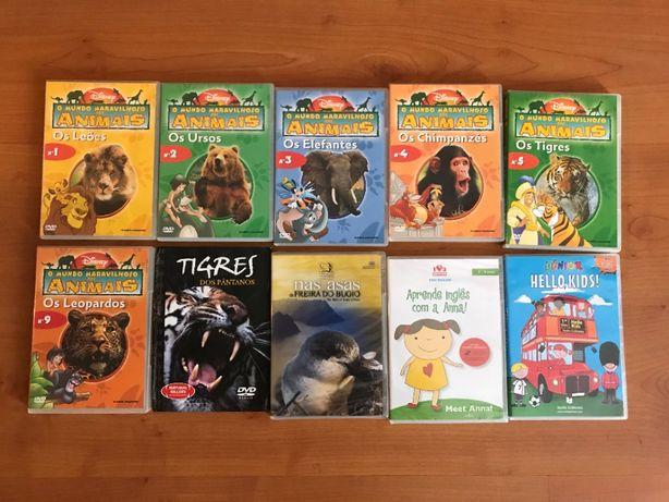 Coleção DVD: DVD´s Educacionais p/ Crianças + Documentários