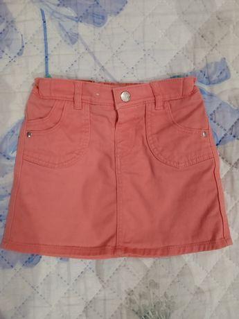 Джинсовая юбка 2-3 года