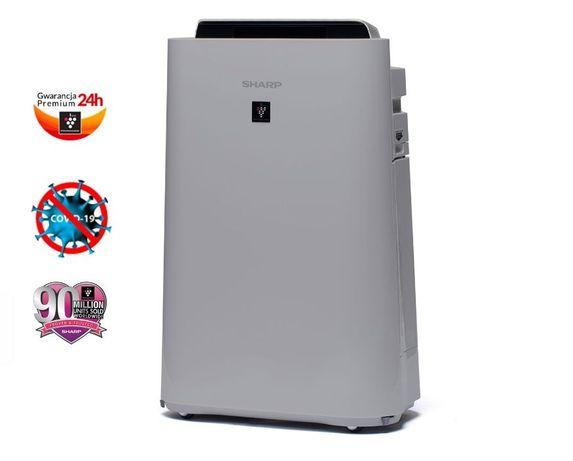 SHARP Plasmacluster UA-HD50E-L oczyszczacz i nawilżacz powietrza