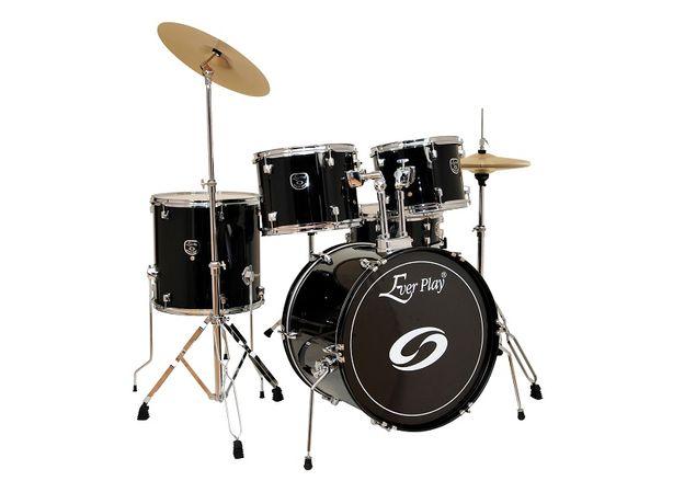 Nowa perkusja Ever Play kompletny zestaw z talerzami Pszczyna