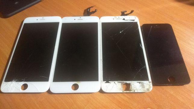 Любые запчасти iPhone 5, 5c, 6, 6 plus, 6s, 6s plus Камеры, платы, nfc