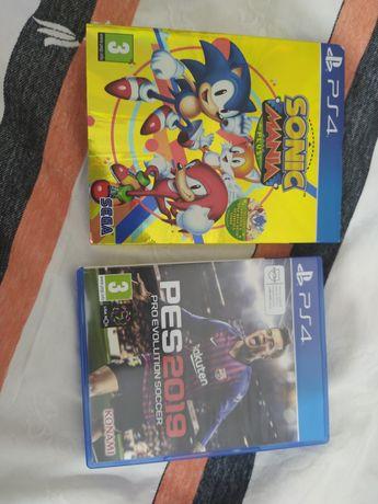 Sonic Mania Plus / PES 2019