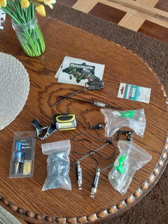 Metod feeder, dzwonki podświetlane, ciężarki, czołówkę, koszyki itd.