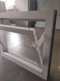 Inwentarskie okna PCV z podwójną szybą białe/kolor nowe uchył WYSYŁKA