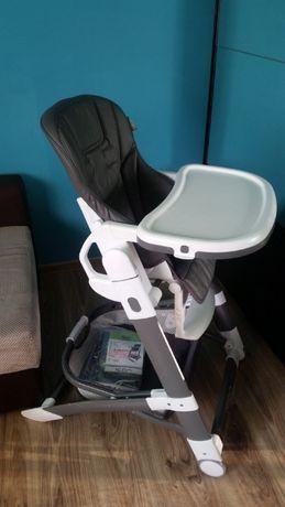 Krzesełko do karmienia 4baby ICON, Skóra