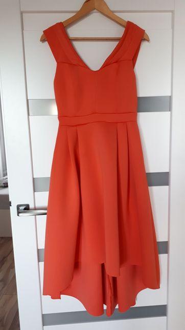 Sukienka asos NOWA asymetryczna wesele studniówka