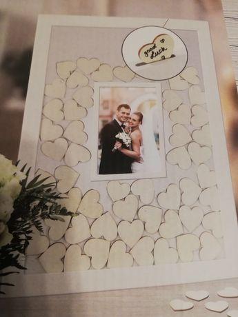 Ramka - księga gości weselnych
