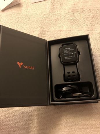 Smartwatch Yamay conectavel iOS/Android