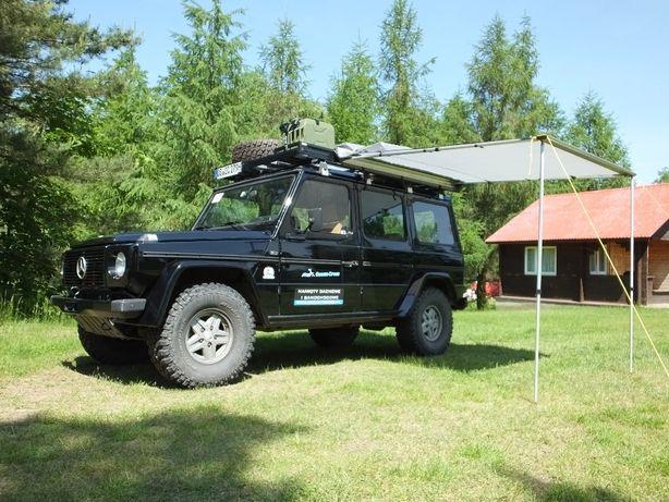 Markiza samochodowa 250x250cm zadaszenie boczne do namiot dachowy