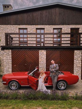 Zabytkowe auta do ślubu : FORD MUSTANG 1965,1967, ROLLS ROYCE CABRIO !