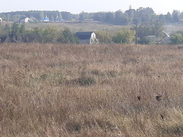 Продам участок в селе Здоровка