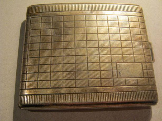 Портсигар серебряный.