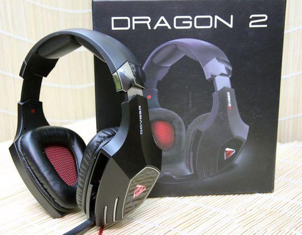 Игровая гарнитура QCYBER DRAGON 2 со звуком 7.1