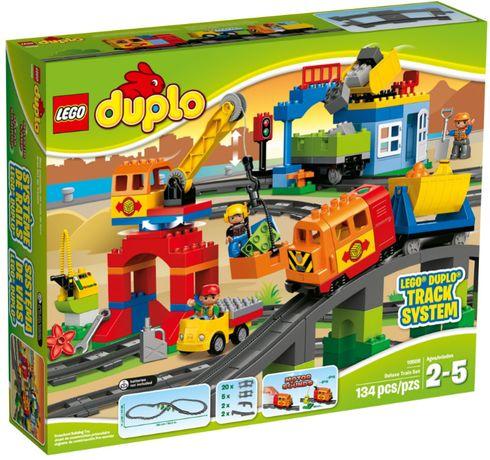Набор Лего Дупло Поезд Делюкс Lego Duplo 10508 Deluxe Train оригинал