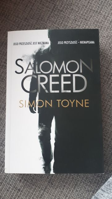 """Salomon Creed"" Simon Toyne"