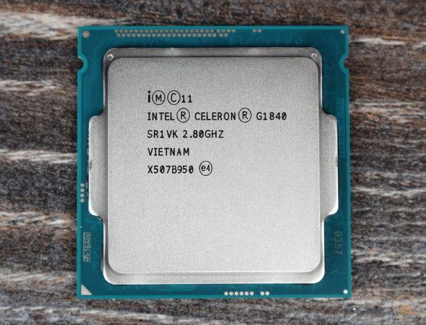 Процессор s1150: Intel® Celeron® G1840 2 МБ кэша, 2,80 ГГц на ядро