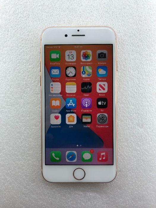 Apple iPhone 8 Gold 64 Гб айфон 8 ідеал США Neverlock Львов - изображение 1