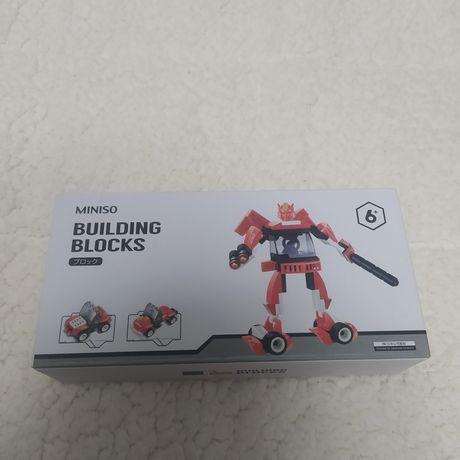Лего конструктор робот-трансформер машина