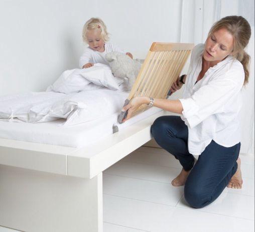 Детские защитные бортики для кровати.