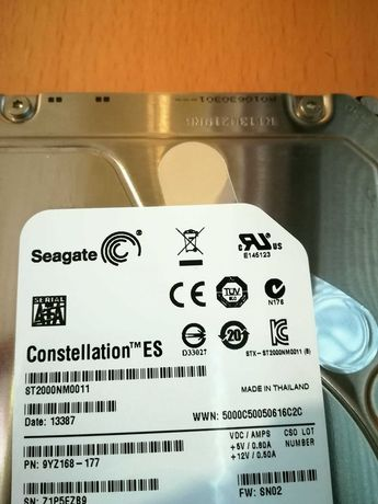 Disco 7200 rpm - 2TB - Seagate Enterprise ES
