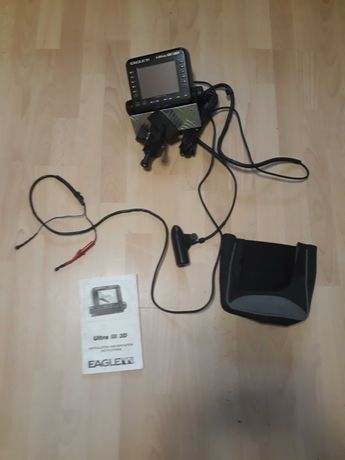 Echosonda EAGLE Ultra III 3D + Przetwornik