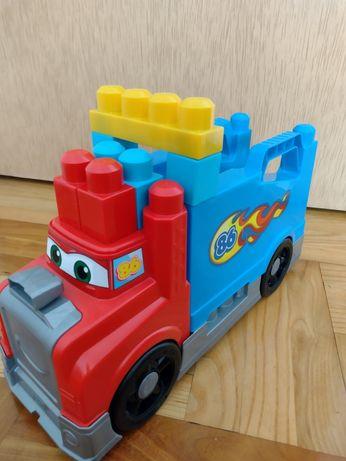 Wóz strażacki auto samoch.klocki Mega bloks stan idealny super zabawka
