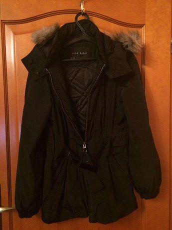 Kurtka czarna, zimowa (Zara)