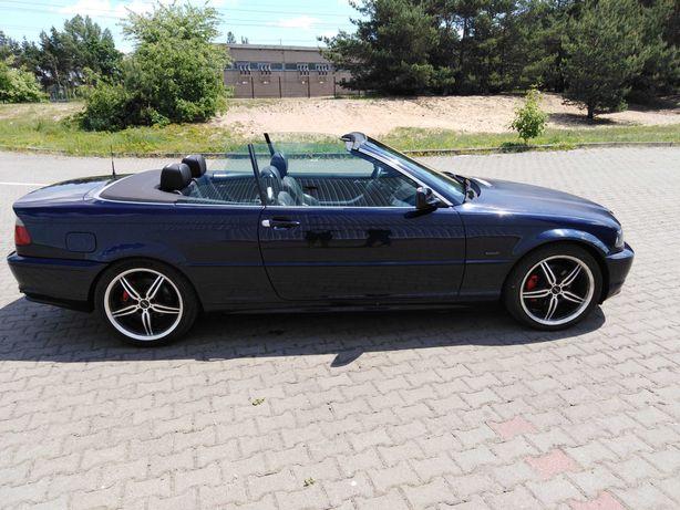 BMW 320i e46 cabrio środek m-pakiet automat 170KM Zamiana