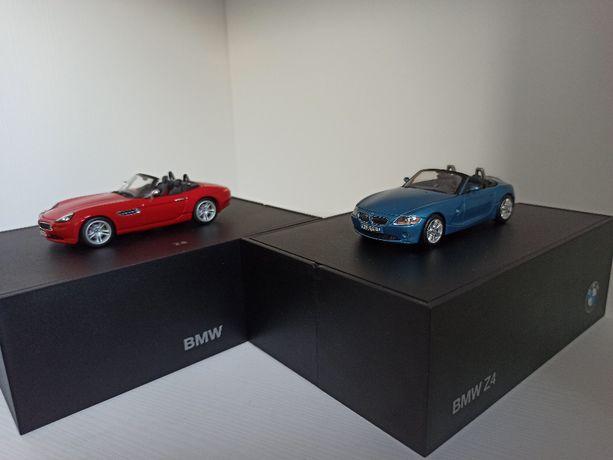Model BMW Roadster Z8 skala 1:43 Minichamps