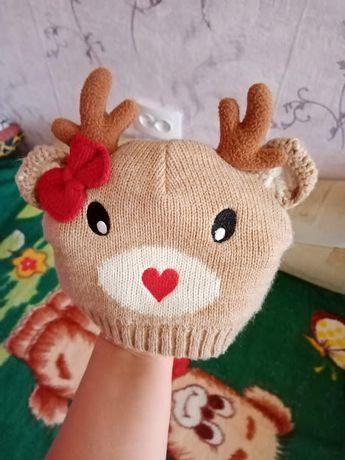 шапка осень-весна для малышей