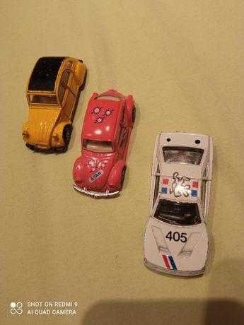 MC Toy Citroen 2CV Yellow Diecast Scale Model