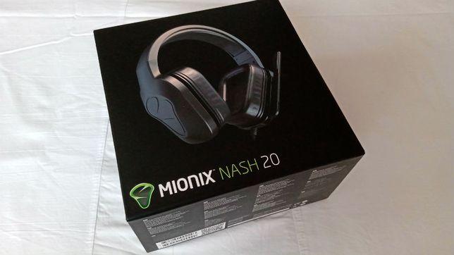 Słuchawki MIONIX NASH 20 przewodowe gamingowe klasa premium nowe