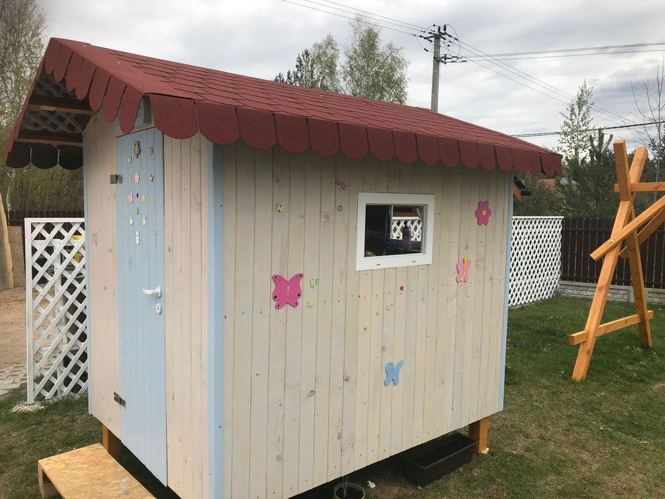 domek narzędziowy, ogrodowy, na działkę, dla dzieci Malinie - image 1
